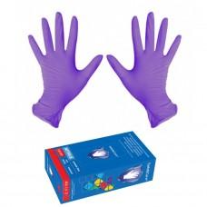 Перчатки нитриловые плотные